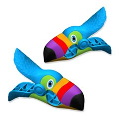 Boca Clips Toucan 2-pack Beach Towel Clips