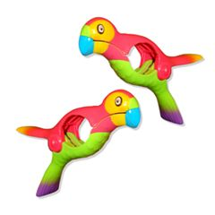 Boca Clips Parrot 2-pack Beach Towel Clips