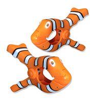 Boca Clips Clownfish 2-pack Beach Towel Clips
