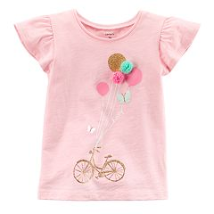 Girls Carter's 4-8 Balloon Graphic Tee