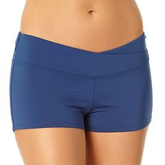 Women's Cole of California Surplice Boyshort Swim Bottoms