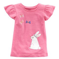 Girls 4-8 Carter's Bunny Rabbit Graphic Tee