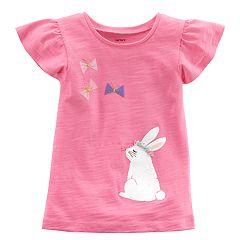Girls 4-8 Carter's Bunny Rabbit Graphic Tee