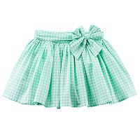 Girls 4-8 Carter's Gingham Poplin Skirt