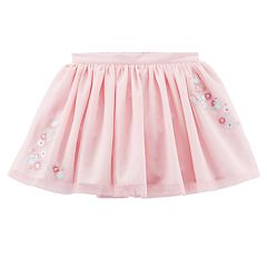 Girls 4-8 Carter's Pink Embroidered Tutu Skirt