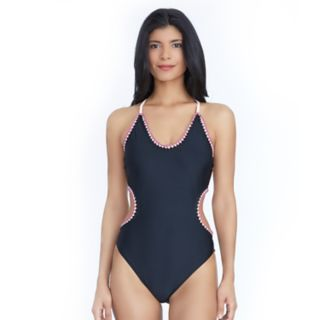 Women's Ibiza Crochet Trim One-Piece Swimsuit