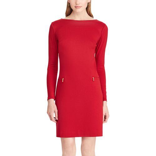 Women's Chaps Ponte Sheath Dress