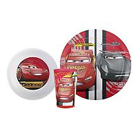 Disney / Pixar Cars 3 Kid's Dinnerware Set