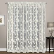 United Curtain Co. Madame Butterfly Window Curtain