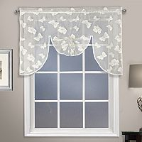 United Curtain Co. Madame Butterfly Swag Window Valance