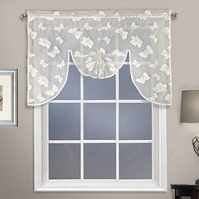 United Curtain Co. Madame Swag Window Valance
