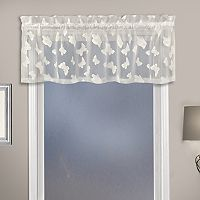 United Curtain Co. Madame Butterfly Straight Window Valance