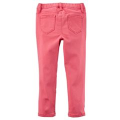 Girls 4-8 Carter's Solid Pull-On Pants