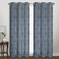 United Curtain Co. Penelope Blackout Window Curtain Set