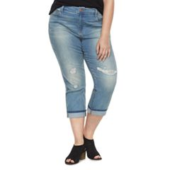 Plus Size SONOMA Goods for Life™ Denim Capris