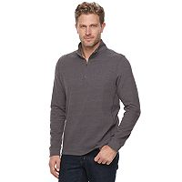 Men's Croft & Barrow® Classic-Fit Ultra Soft Quarter-Zip Pullover