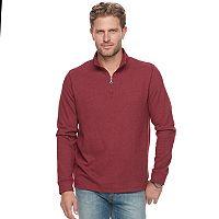 Men's Croft & Barrow® Classic-Fit Ultra Soft Quarter-Zip Pullover