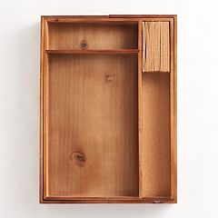 Food Network™ Acacia Wood Drawer Organizer