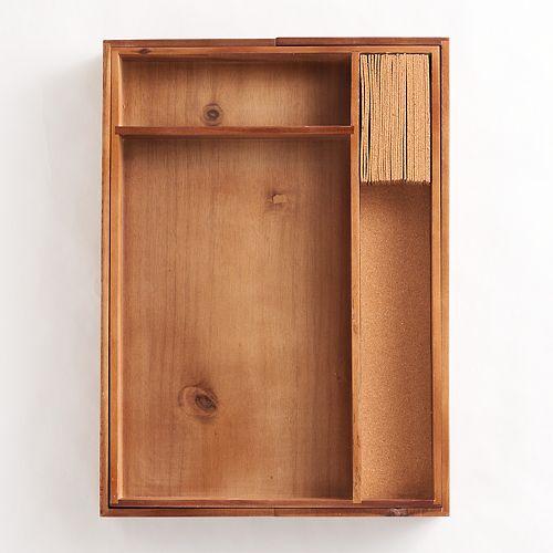 Food Network™ Acacia Wood Drawer Organizer