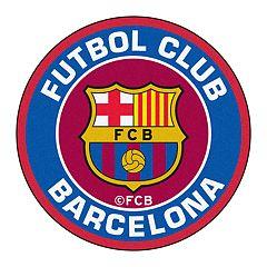 FANMATS FC Barcelona Round Floor Mat