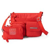 E.T.A. by Rosetti Napa Crossbody Bag with RFID-Blocking Pouch