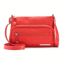 E.T.A by Rosetti Milan Crossbody Bag with RFID-Blocking Pouch