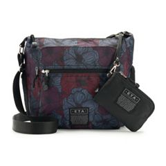 E.T.A. by Rosetti Mykonos Large Crossbody Bag with RFID-Blocking Pouch