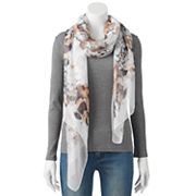 Apt. 9® Hibiscus Oversized Oblong Scarf