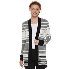 Women's Apt. 9® Striped Cardigan