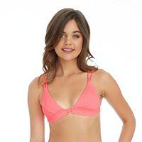 Mix and Match Strappy Triangle Bikini Top
