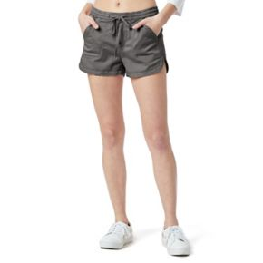 Juniors' Unionbay Maribeth Sateen Shorts