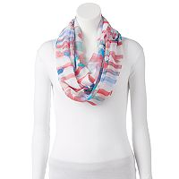 love this life Watercolor Infinity Scarf
