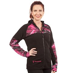 Women's Huntworth Camo Fleece Full-Zip Hoodie