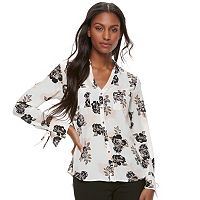 Juniors' Candie's® Trumpet Sleeve Blouse