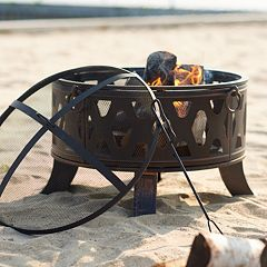 SONOMA Goods for Life™ Round Outdoor Fire Pit 3-piece Set
