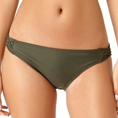 Juniors' California Sunshine Strappy Hipster Bikini Bottoms