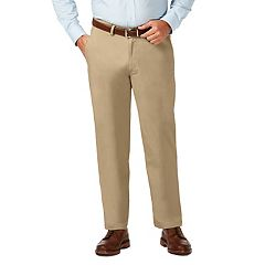 Big & Tall Haggar Coastal Comfort Classic-Fit Stretch Flat-Front Chino Pants