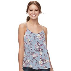 Juniors' Pink Republic Layered Camisole