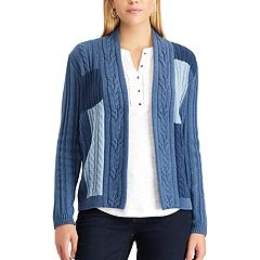 Women's Chaps Patchwork Cardigan