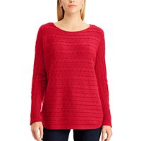 Women's Chaps Cable-Knit Dolman Sweater