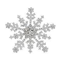 Napier Snowflake Pin