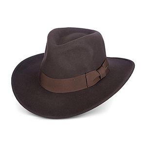 9eaec38d Men's Indiana Jones All-Season Wool Felt Outback Hat