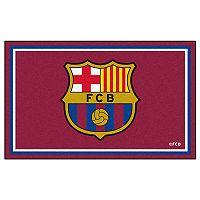 FANMATS FC Barcelona 4' x 6' Rug