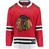 Men's Majestic Chicago Blackhawks Breakaway Jersey