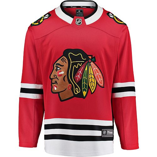 Men's Fanatics Chicago Blackhawks Breakaway Jersey