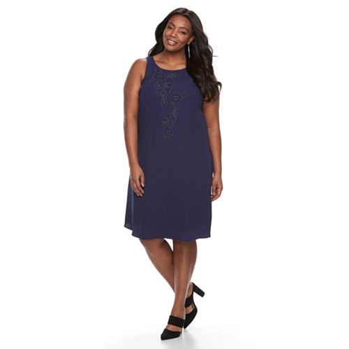 a1367c2a0d33 Plus Size Apt. 9® Printed A-Line Dress