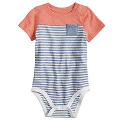 Baby Boy Jumping Beans® Striped Bodysuit