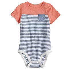 Baby Boy Jumping Beans® Striped Bodysuit