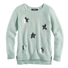 Girls 7-16 Sugar Rush Sequin Sweater