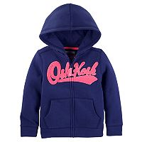 Toddler Girl OshKosh B'gosh® Heritage Logo Hoodie